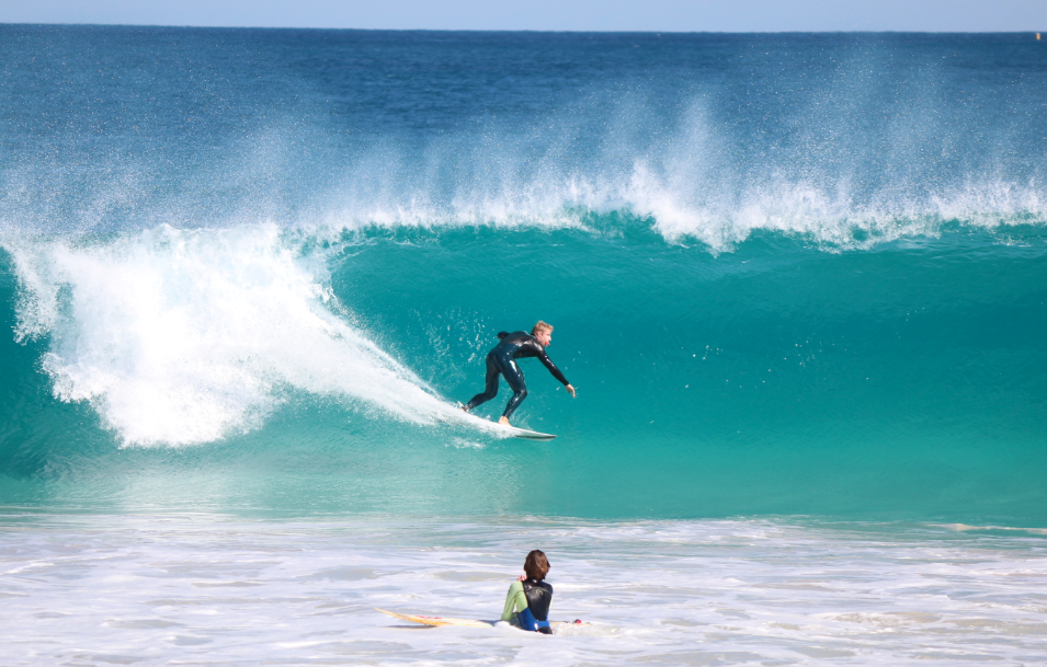 Surfing Perth