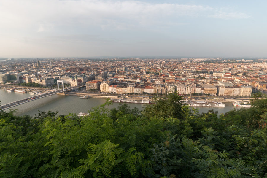 Budapest from the Citadella