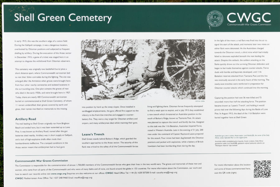 Shell Green cemetery information