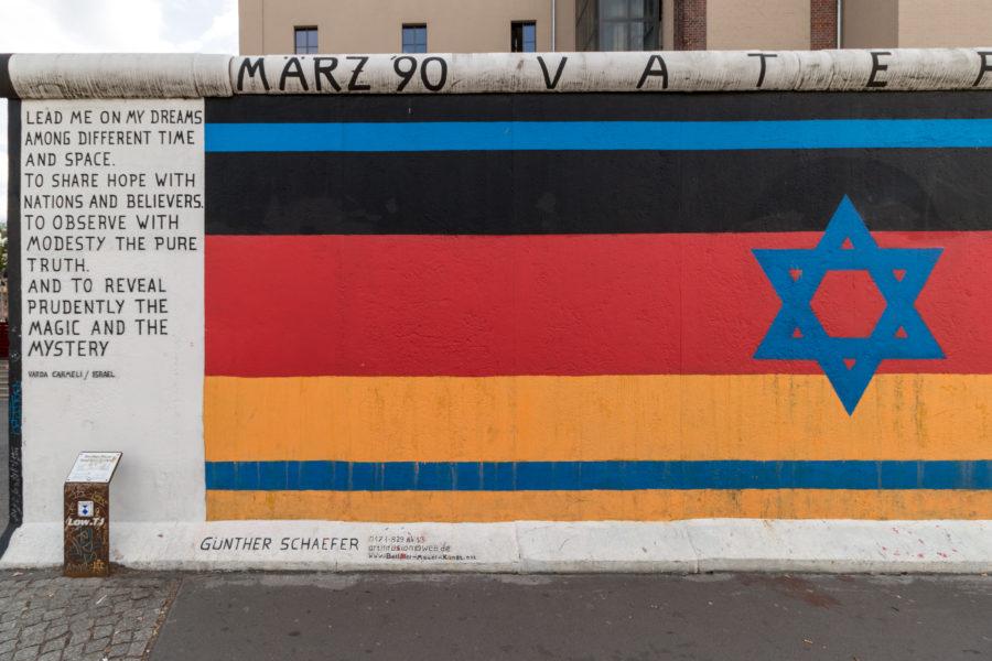 Art work on the Berlin wall