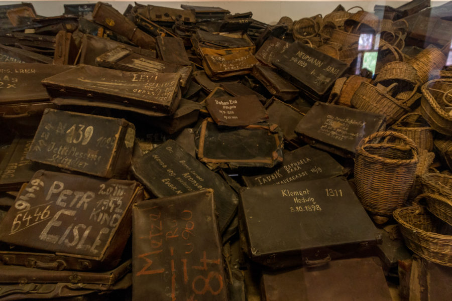 Bags with names and addresses