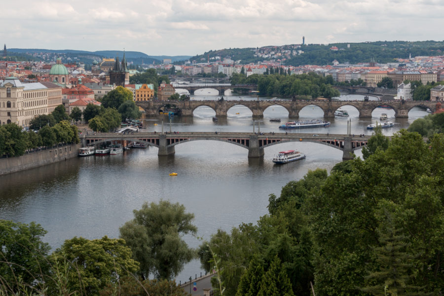 Many bridges of Prague