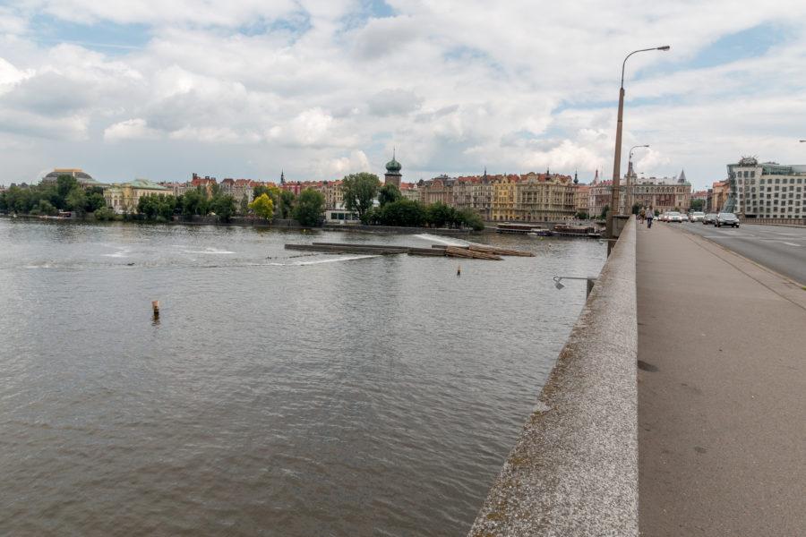 Open river
