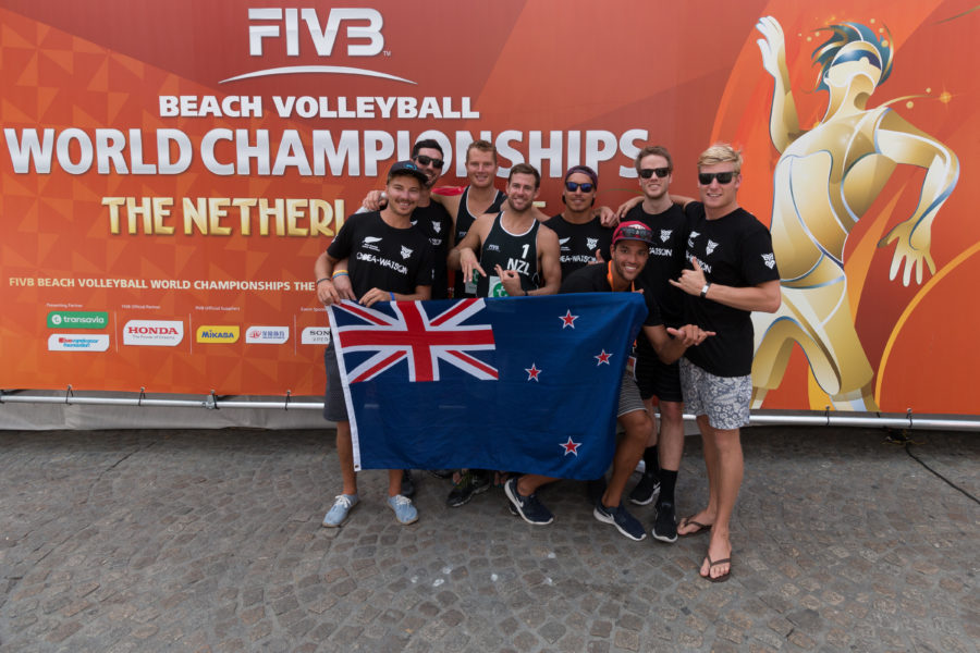 The new zealand supporters