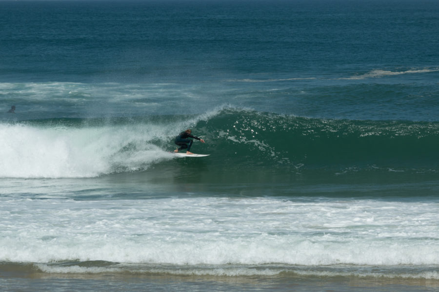 Dan trying to get barrelled