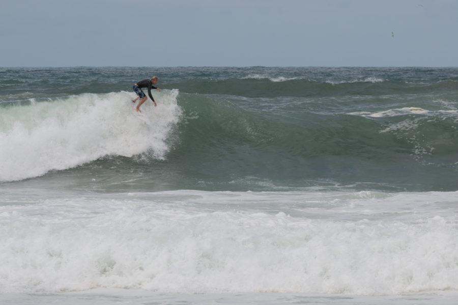Big waves in France