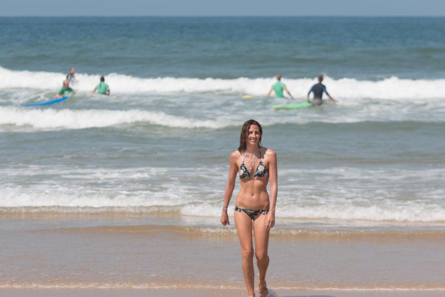 Half human half mermaid