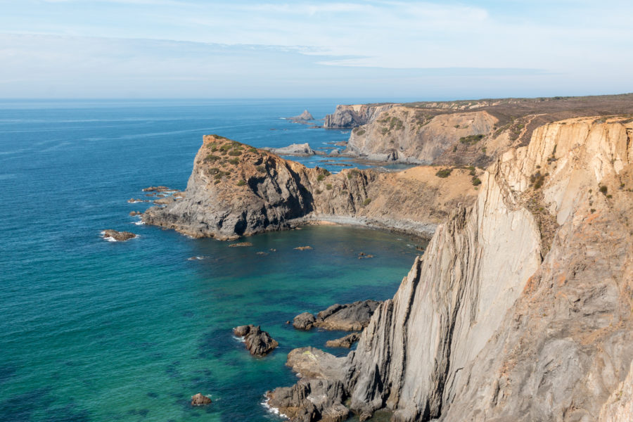 Cliffs of the rugged west coast