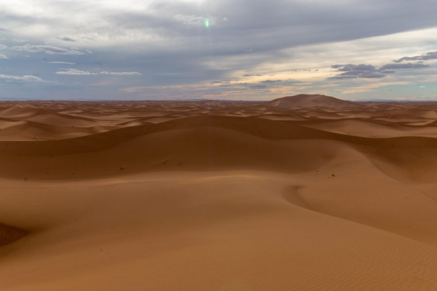Dunes and dunes, sand and sand