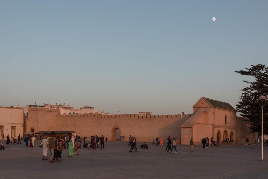 Walls of the medina