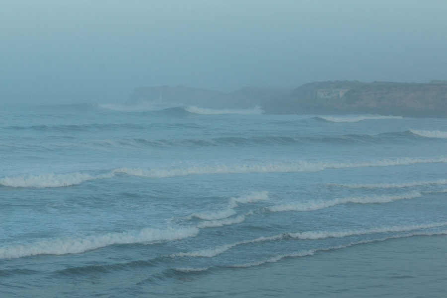 Swell lines in Imsouane