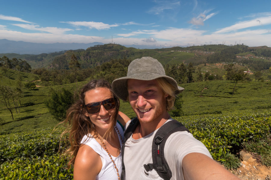 Us in Sri Lanka