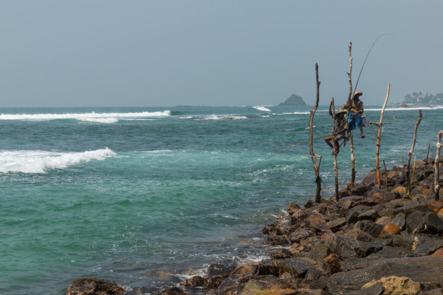 Looking out to see in Sri Lanka