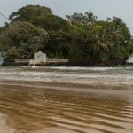 Tiny house on an island off Weligama